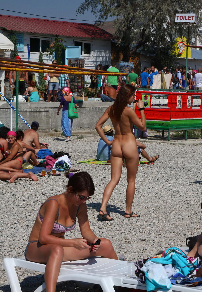 girls at the Hot beach amateur