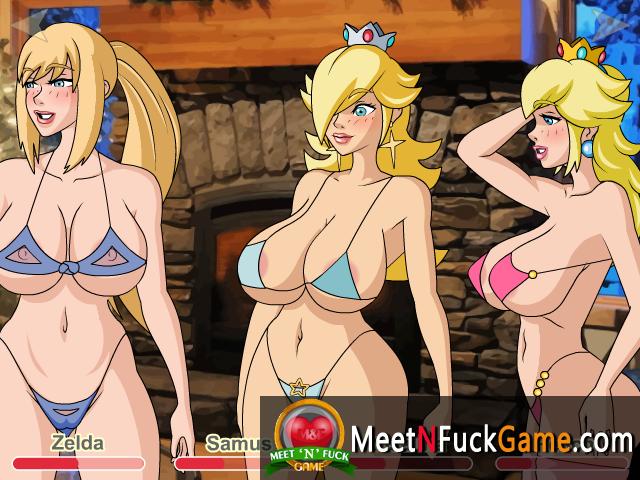 lesbian porn nintendo