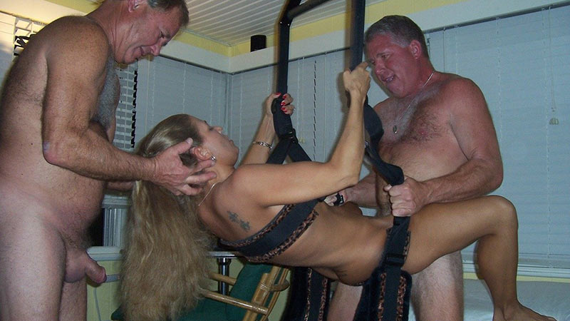 A couples swing on sex fucking