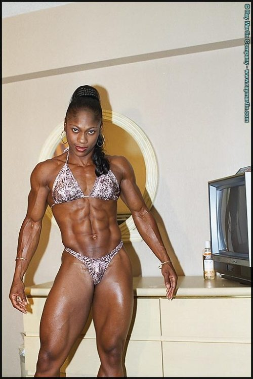 stories Female muscle domination