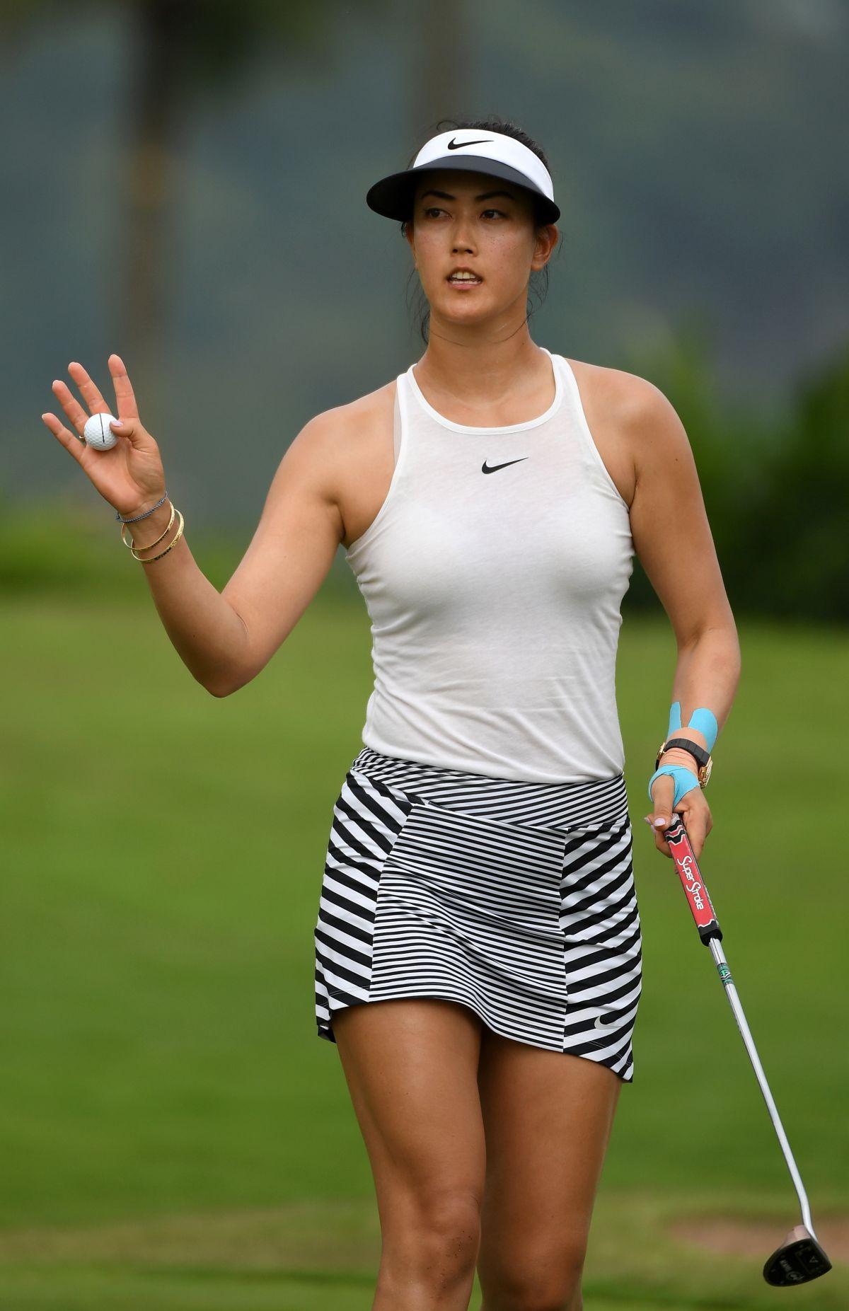 bent golfers over lpga Hottest