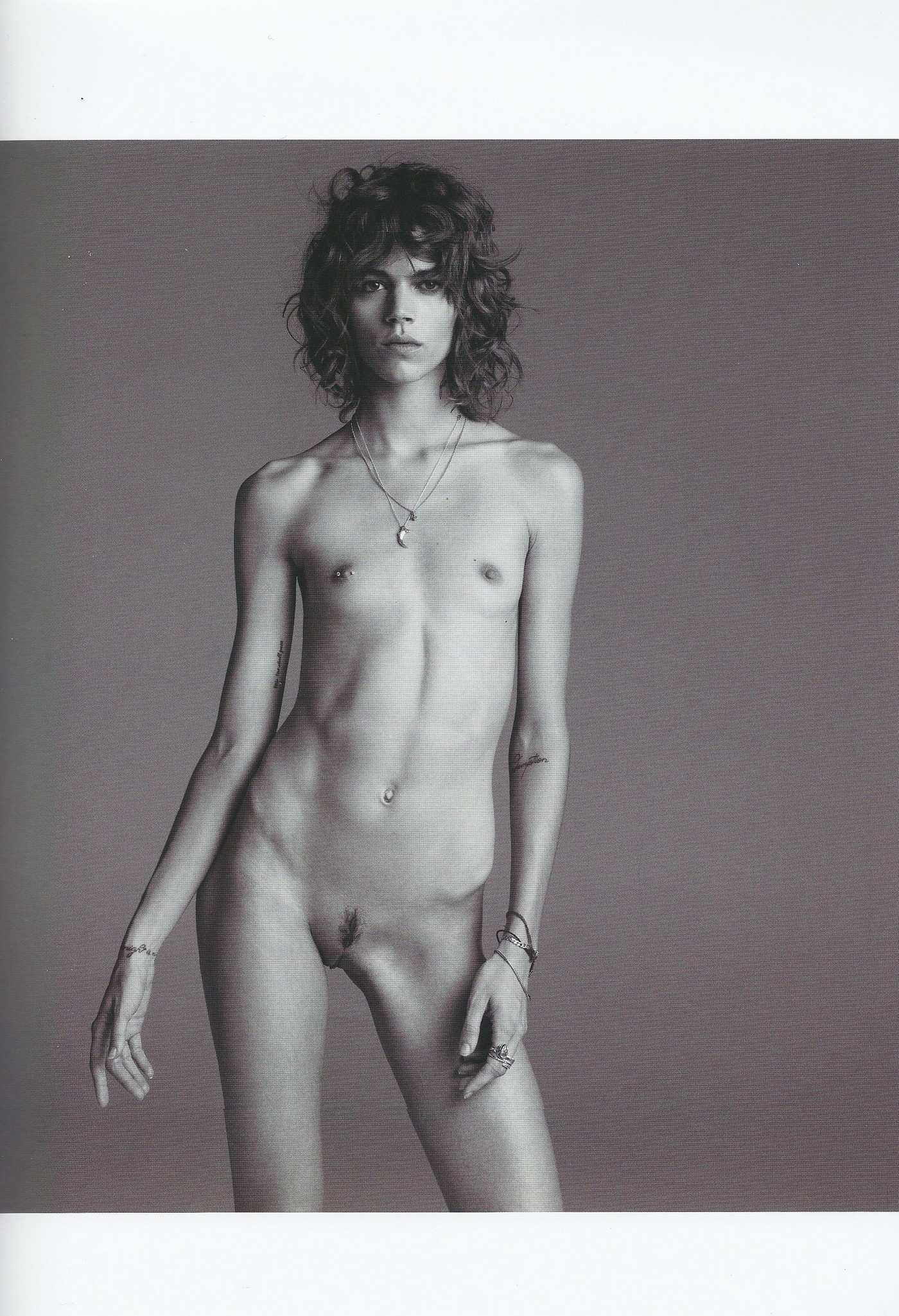 fashion non Magazine models young nude