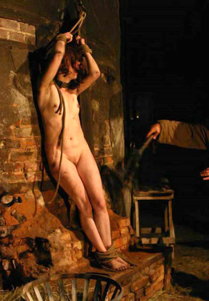 tortured stripped bdsm searched Naked