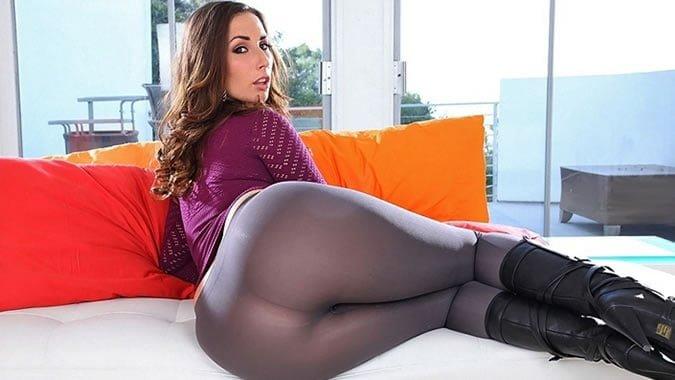 black spandex big porn booty
