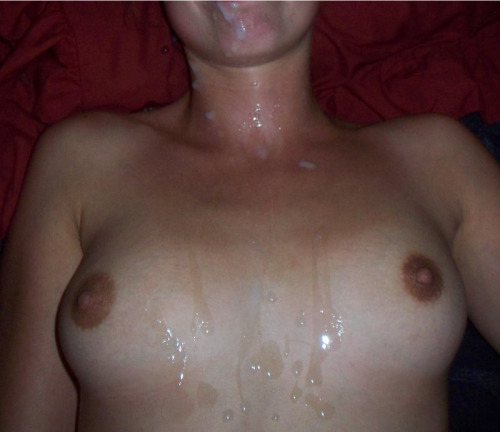 pearl necklace on Cum