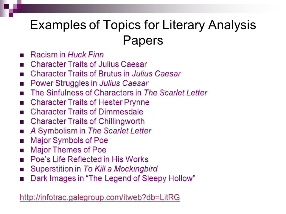 scarlet letter Literary analysis the of