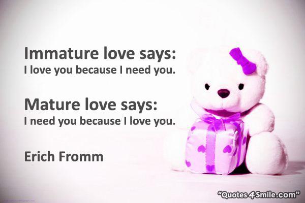 vs mature Immature