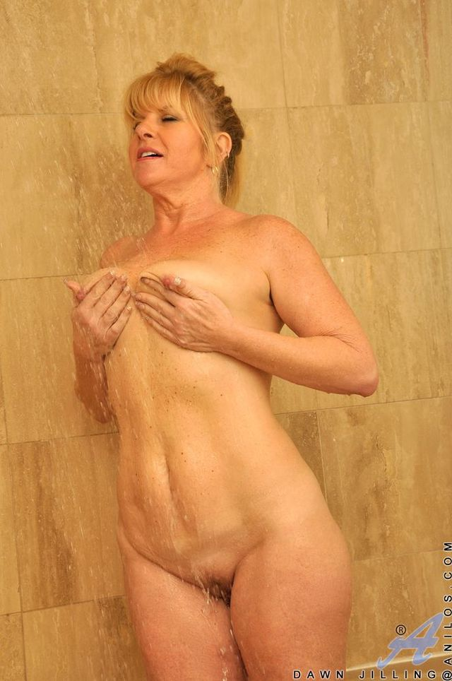 shower Mature naked mom