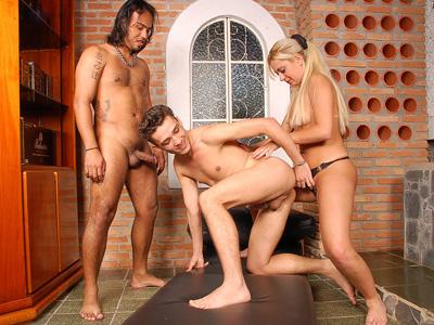 asian orgy latina white Black