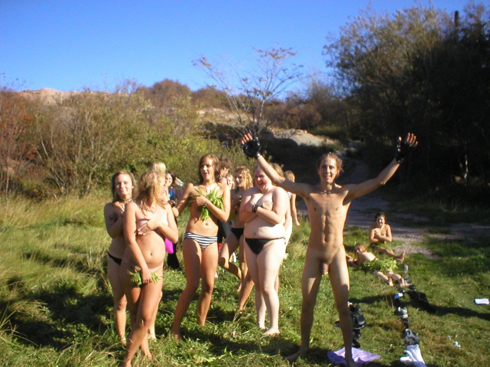 nudist fun Amateur beach