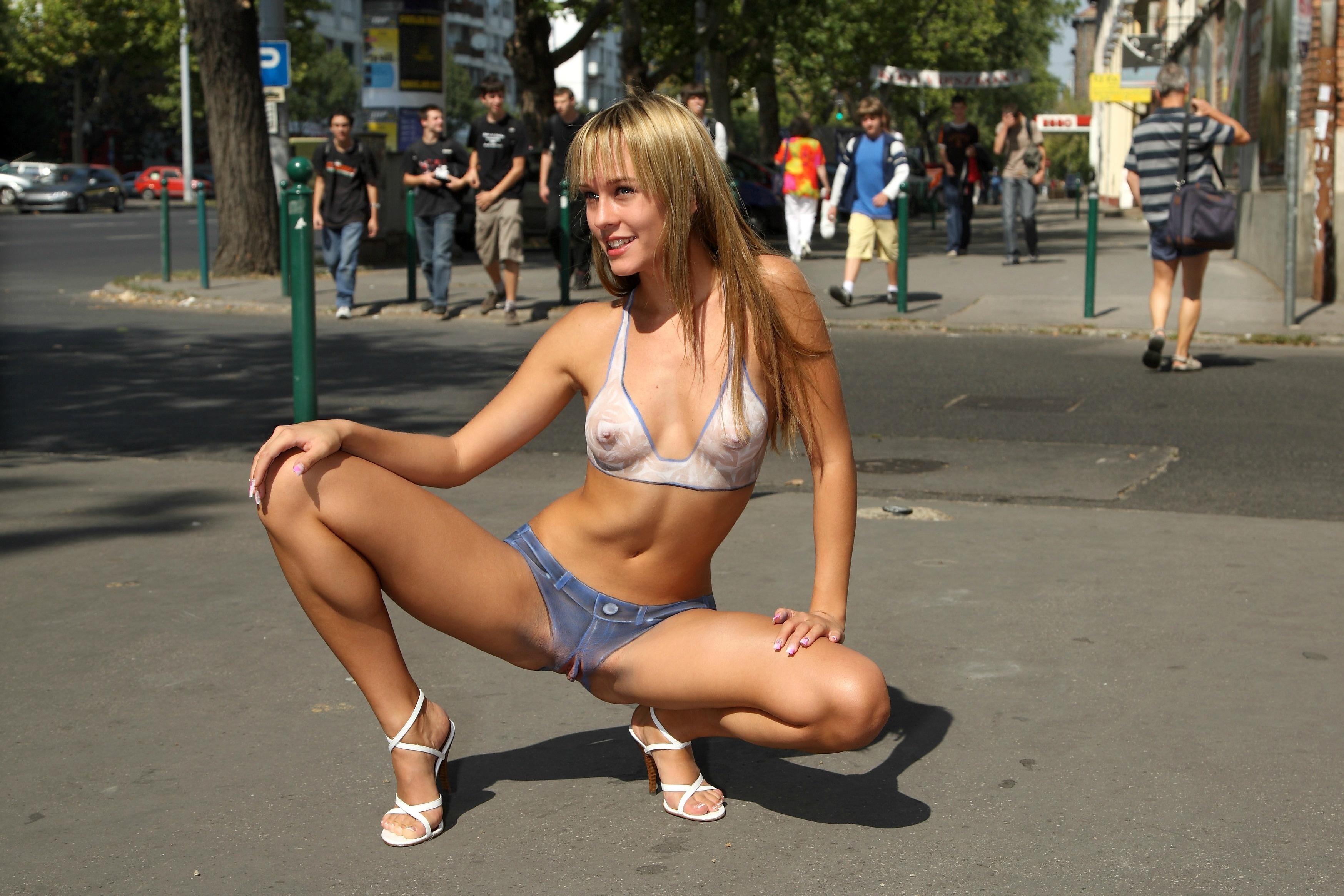 Em naked girls spread