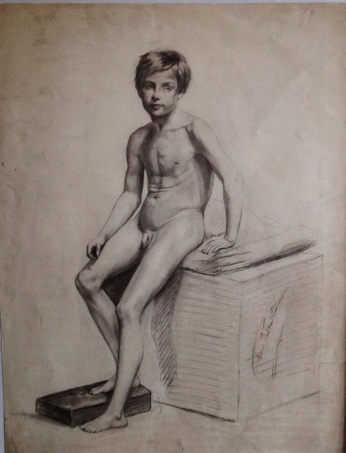 boys art nude