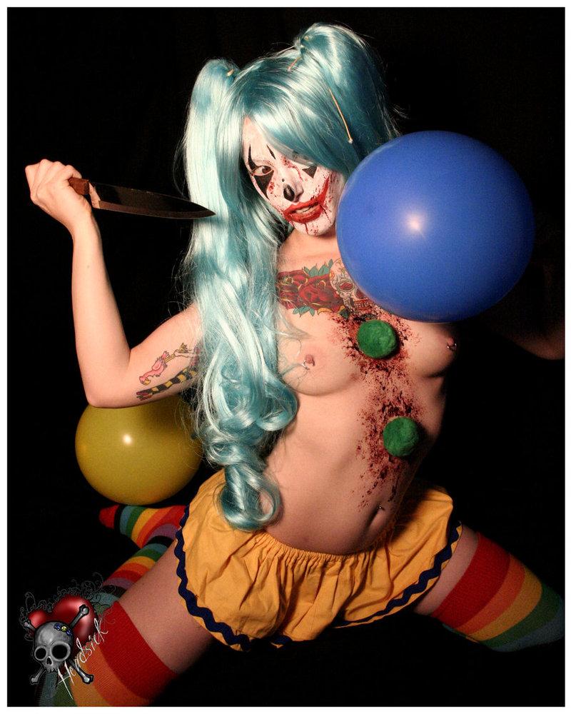 circus ass Sexy women