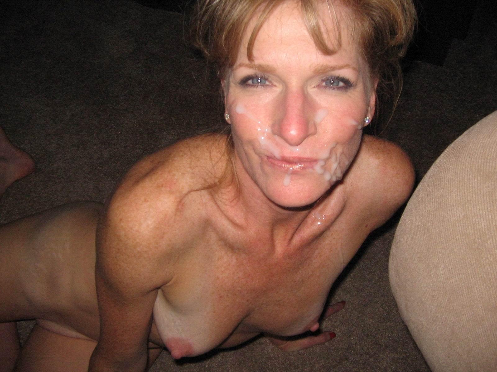 Milf nude cum