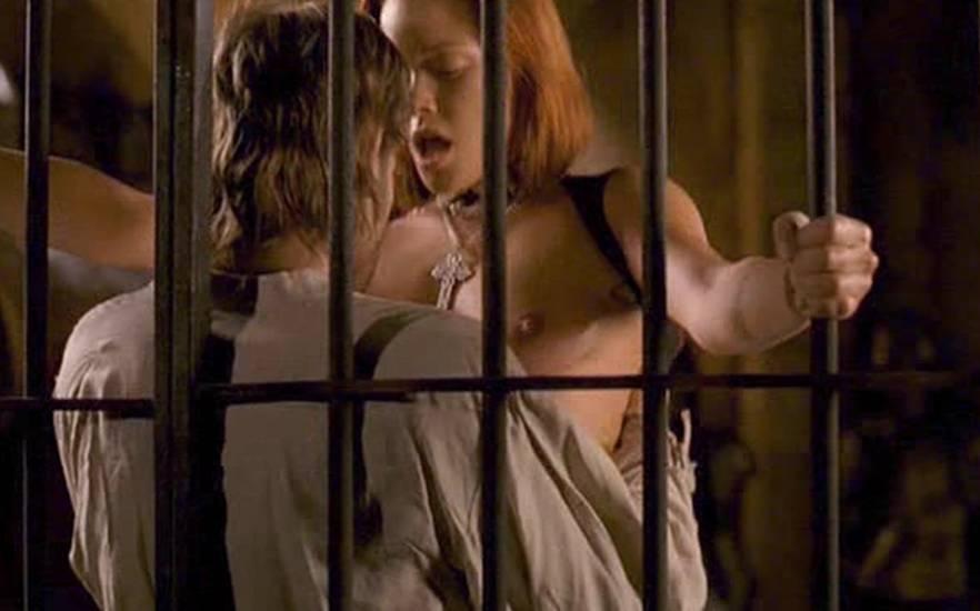 lesbian Kristanna sex scene loken nude