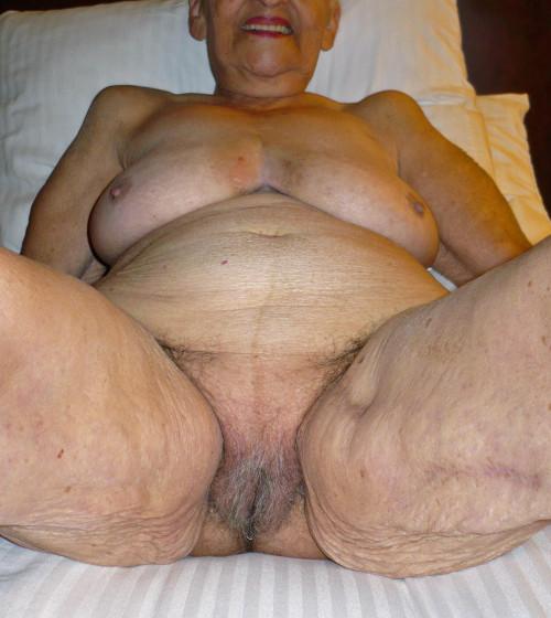 mature granny Fat