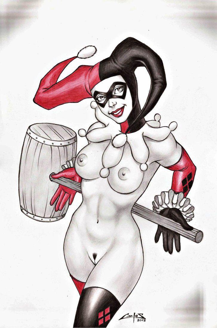 cartoon nude quinn Harley