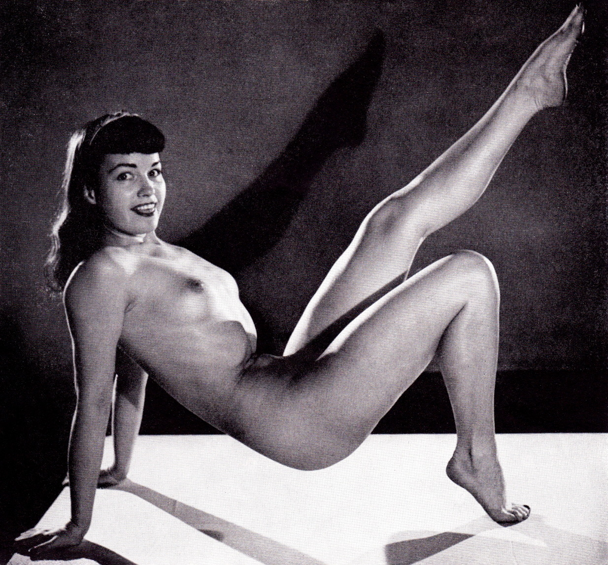 Nudes of betty page sex photo