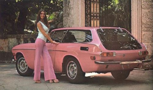 cars Playboy playmate pink