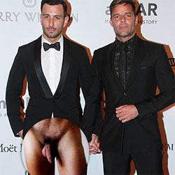 Ricky naked nude martin