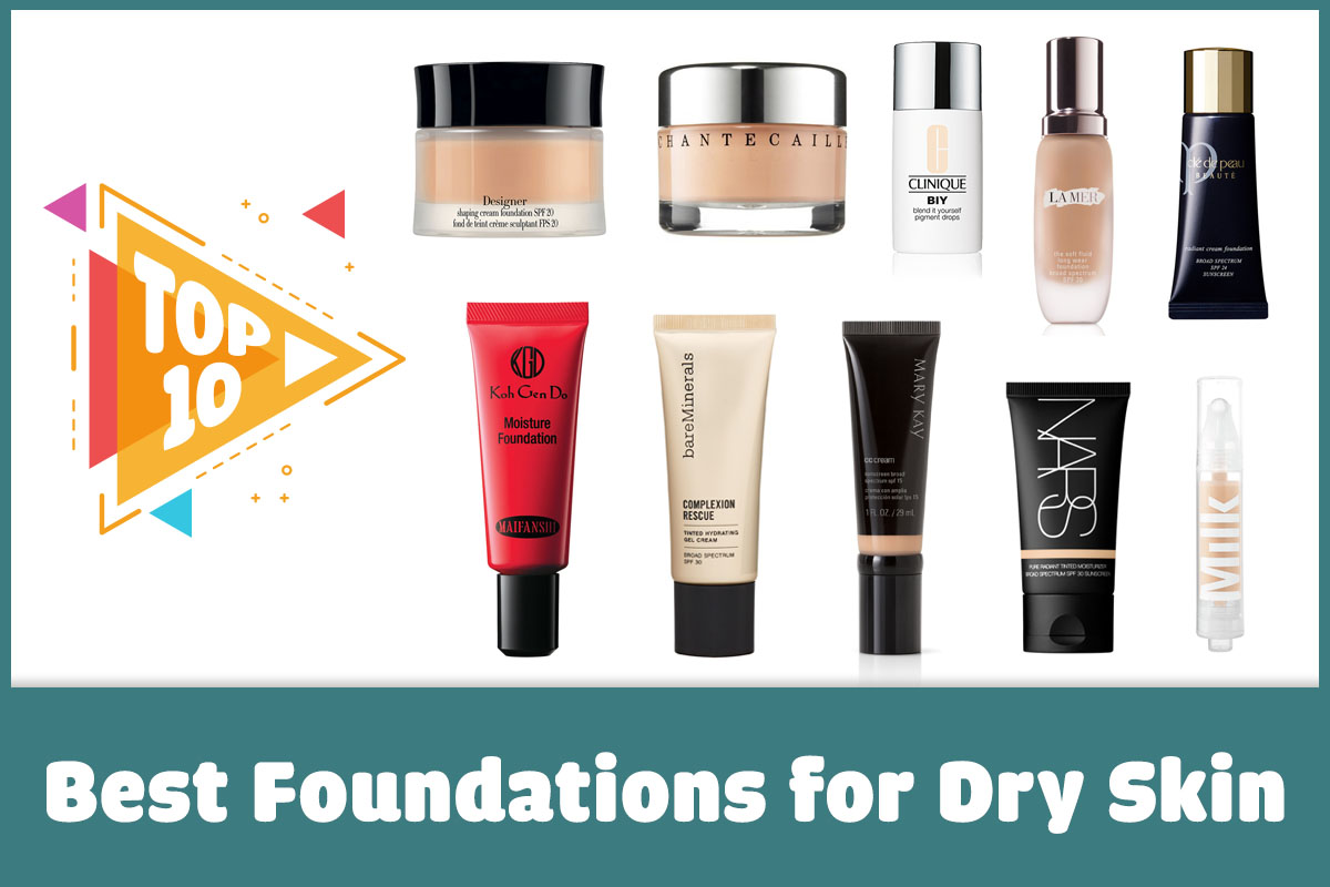 foundation dry makeup skin Best