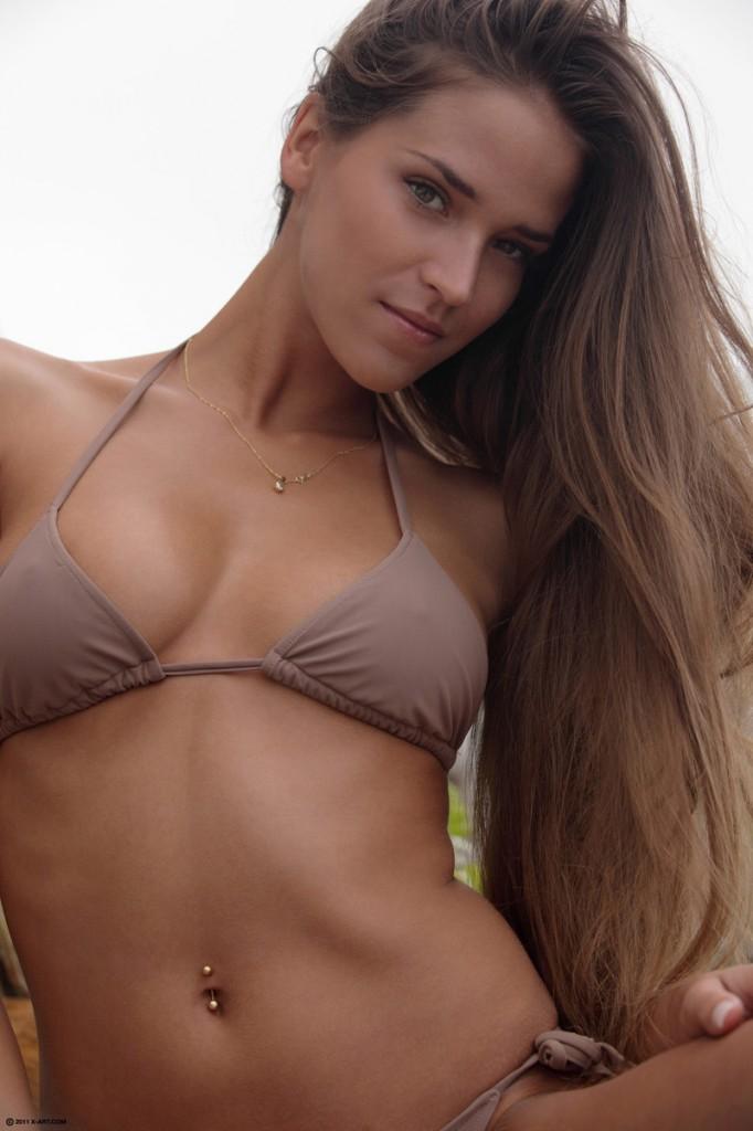 bikini model fucked Brunette