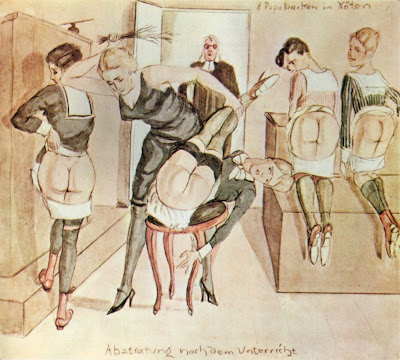 panty piss Hard caning