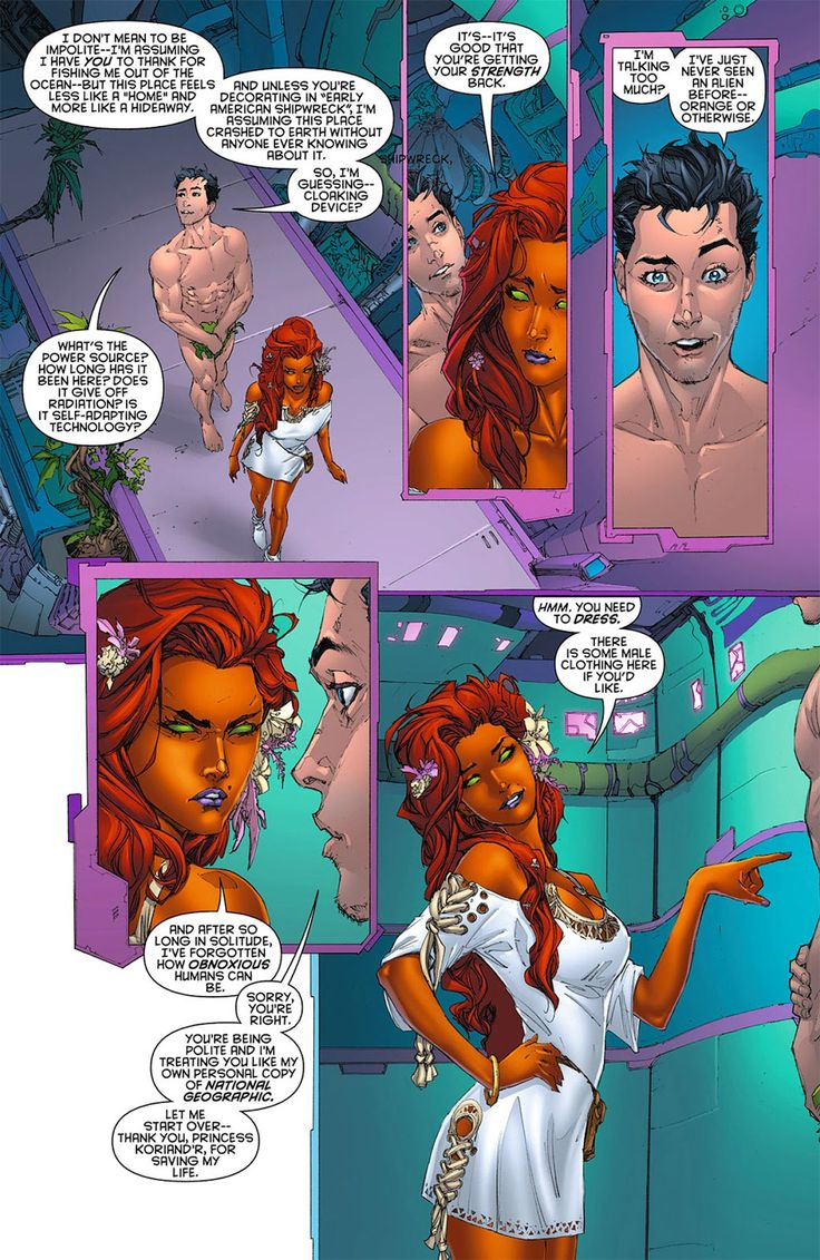 in dc nudity comics Graphic