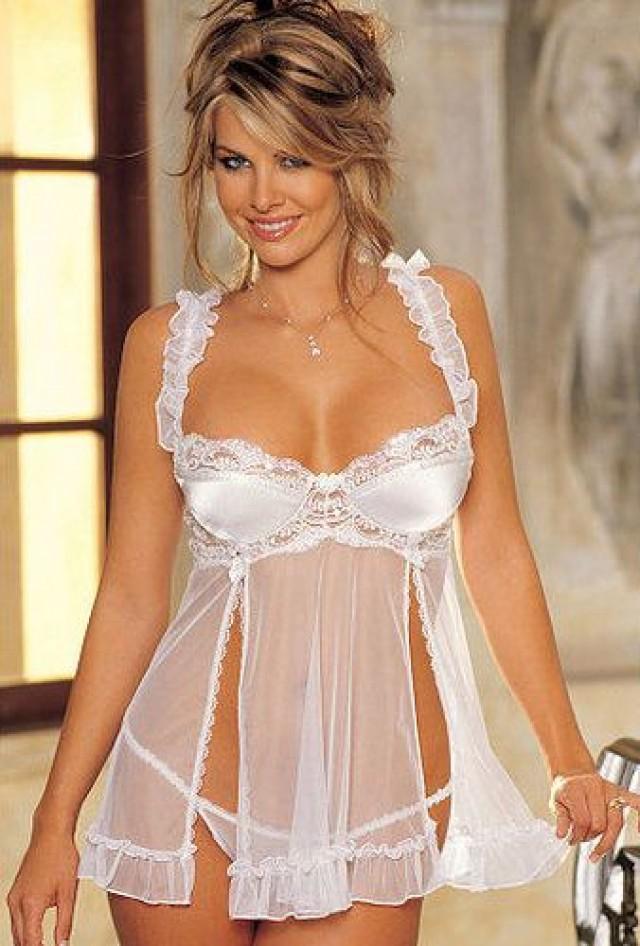 lingerie wedding Elegant white