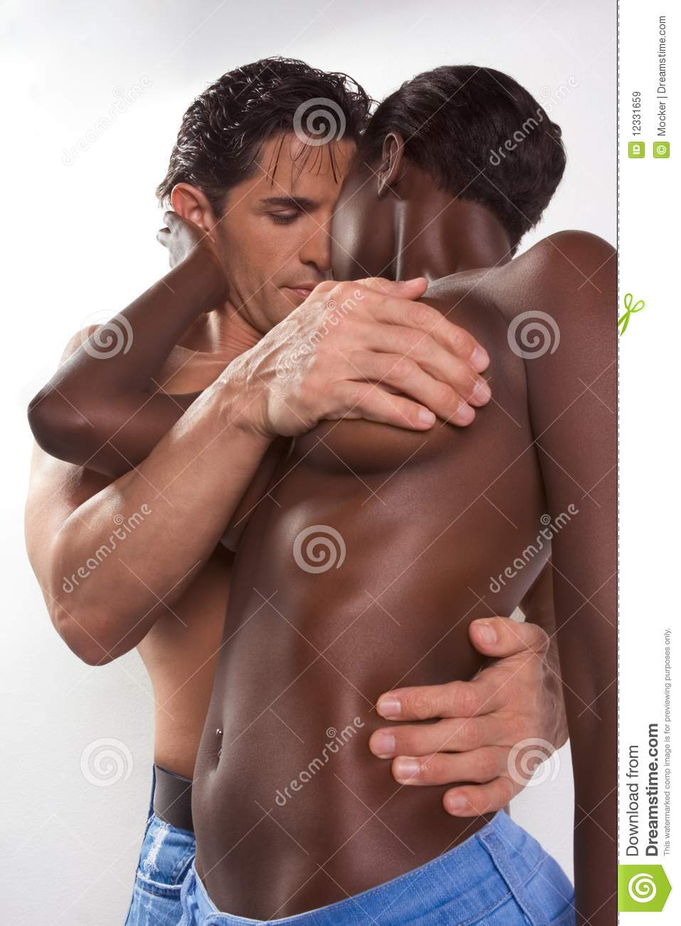 Couple sex woman black african american