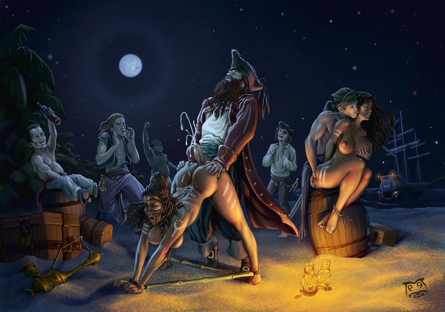 fantasy porn Pirate