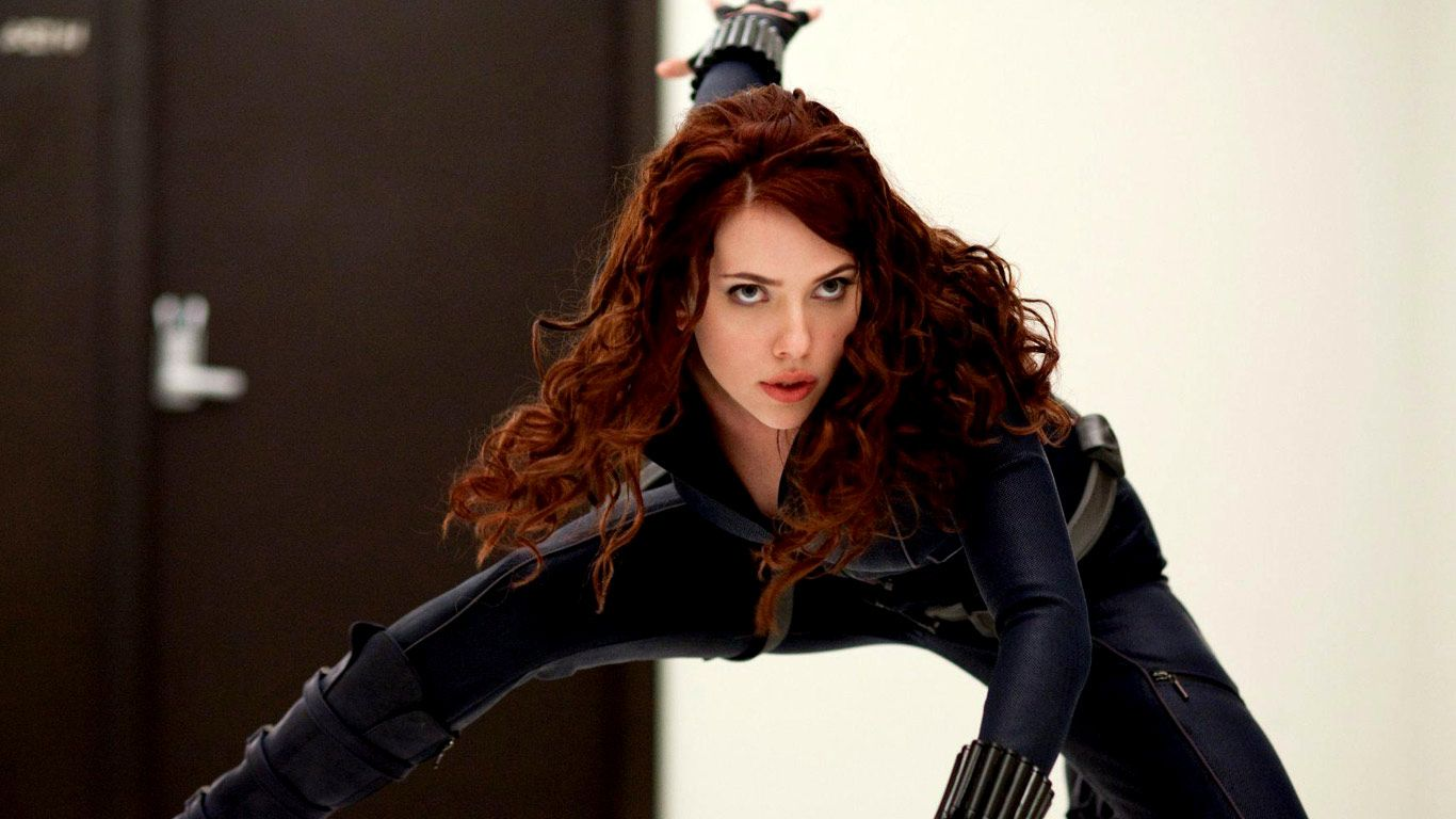 like black widow Avengers posed