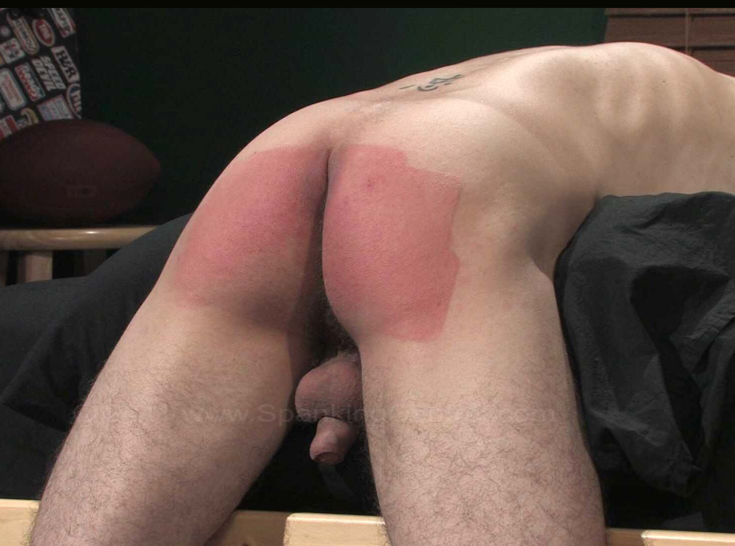ass nude Mature spanking Bruised boy