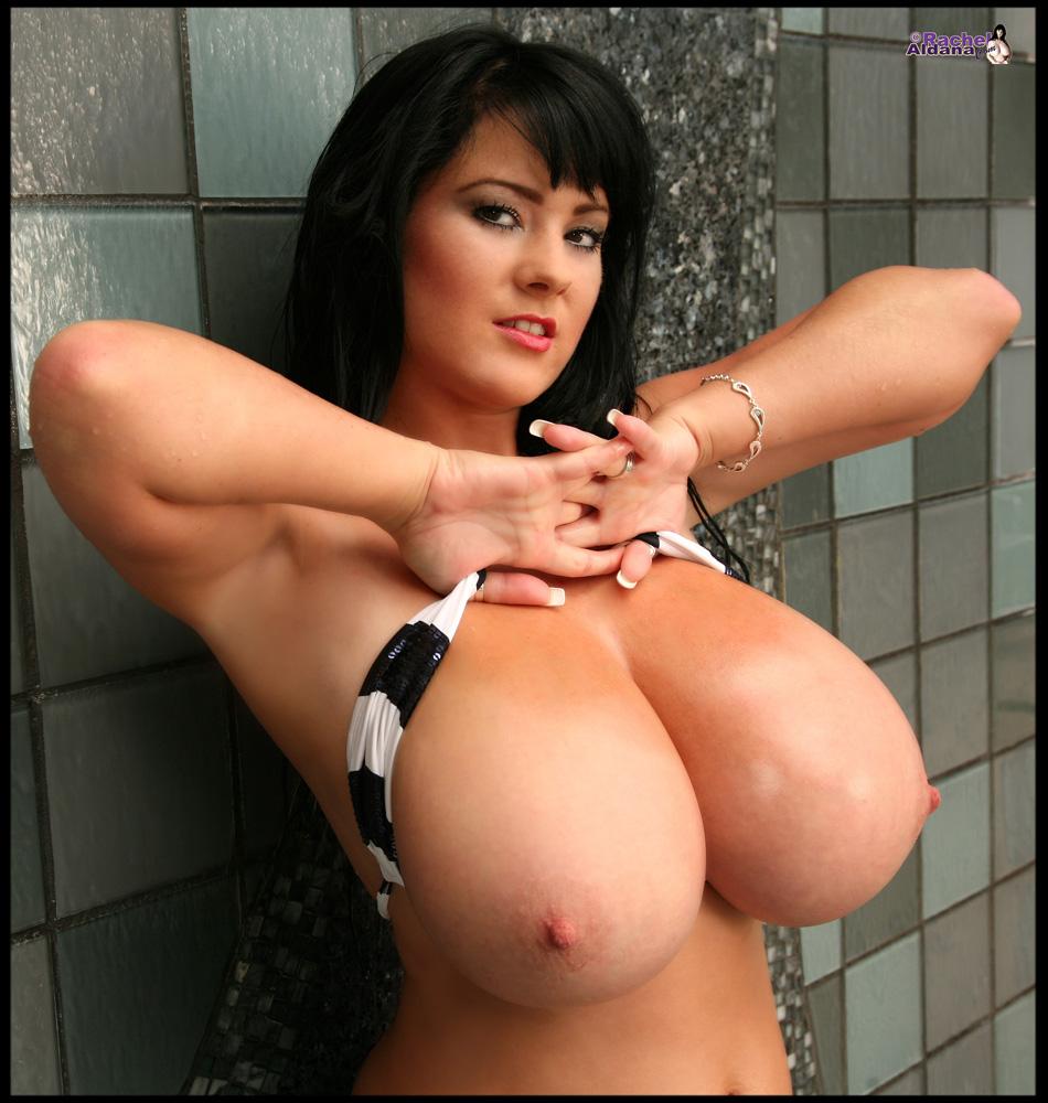 white bra Big boob tight