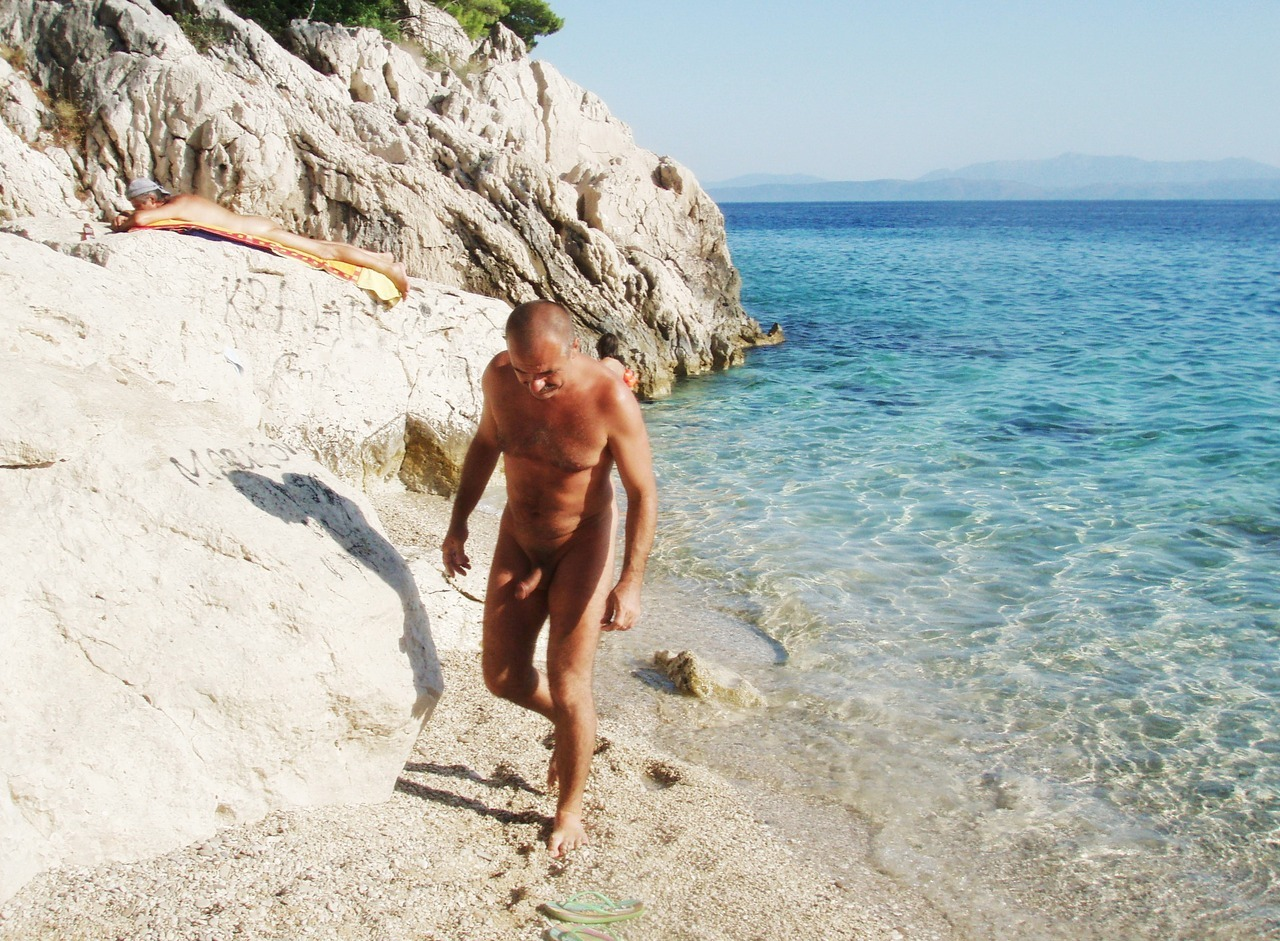 nude beach Croatia