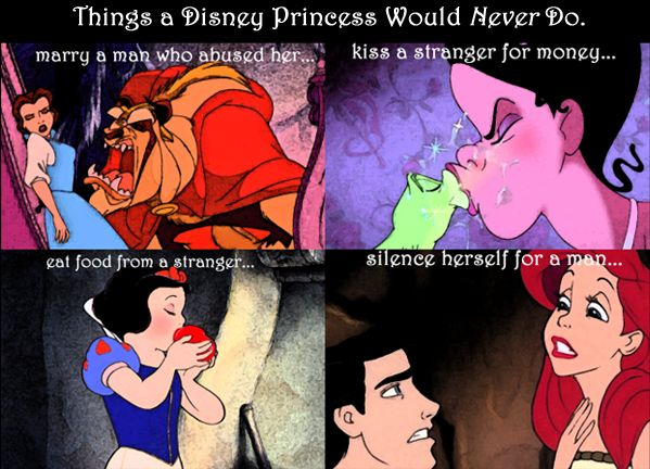 funny Disney princess