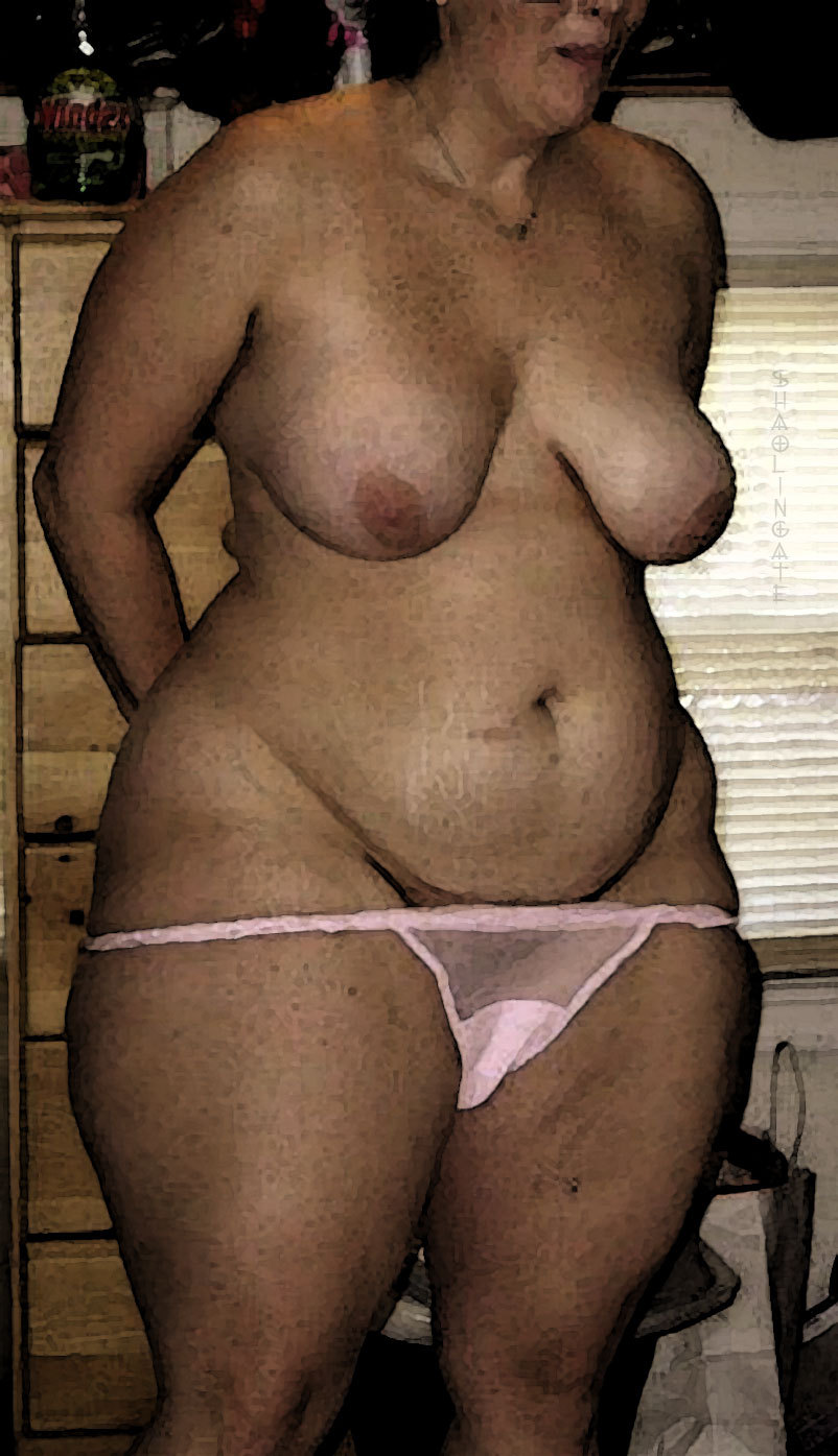 wide hips mature Big