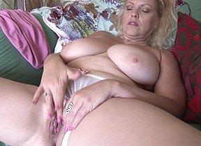 breasted housewife Big