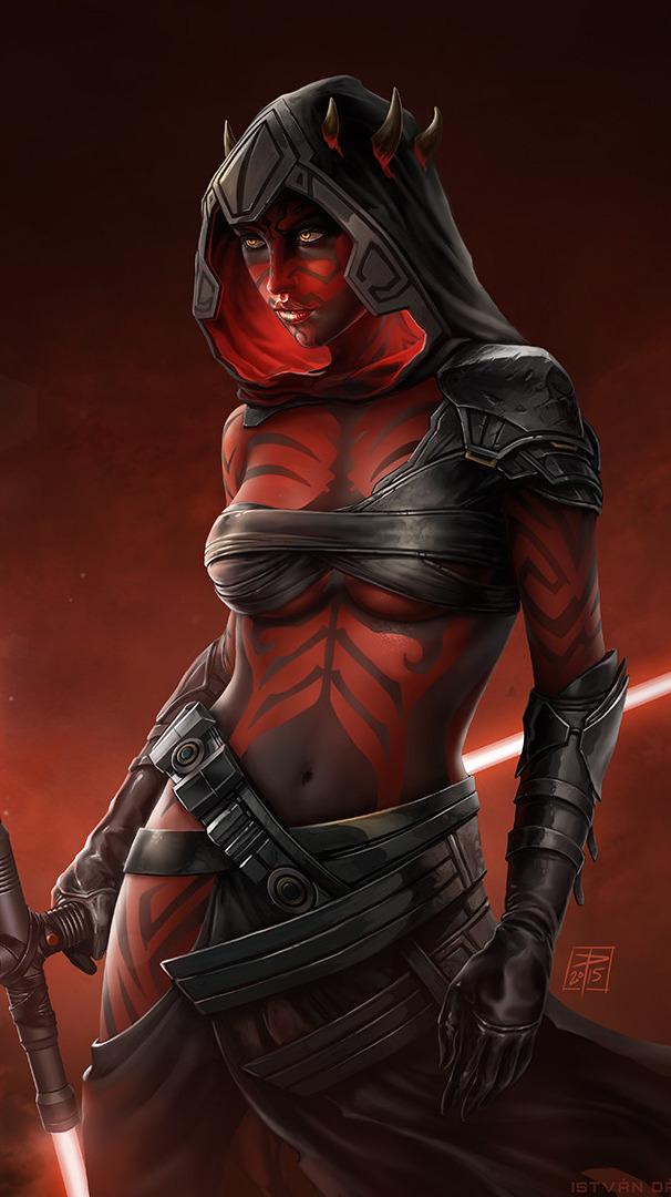 maul Female star wars darth