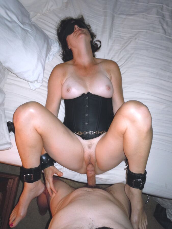 bondage Homemade mature wife