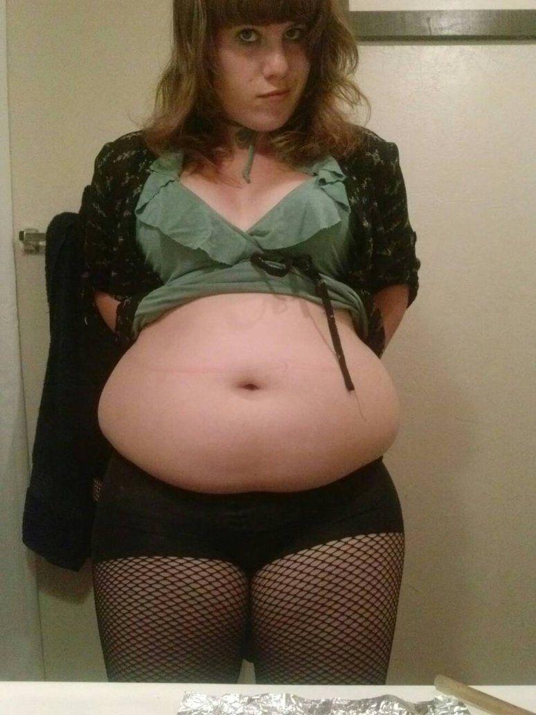 fat belly girl Hot