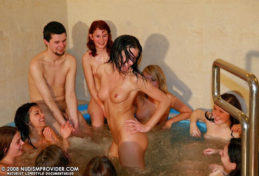 teen parties nudist