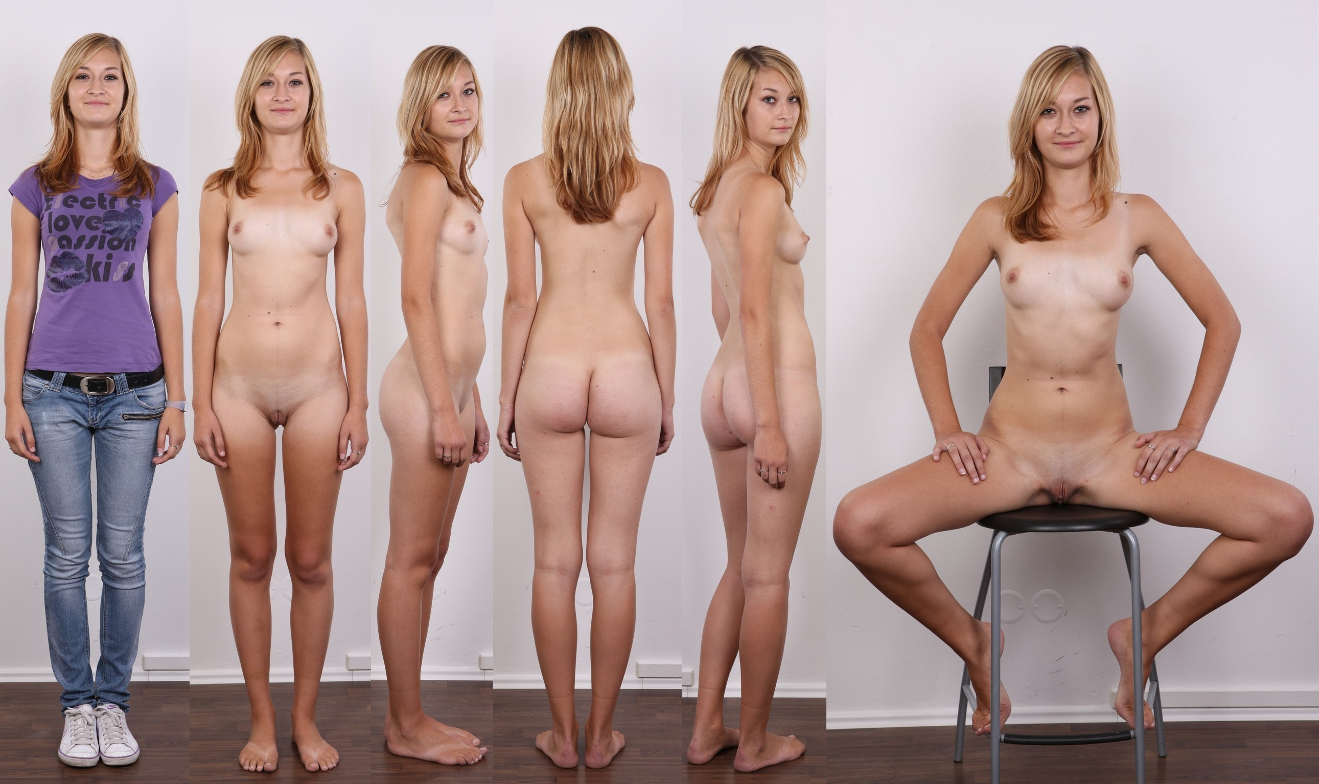 group Dressed undressed