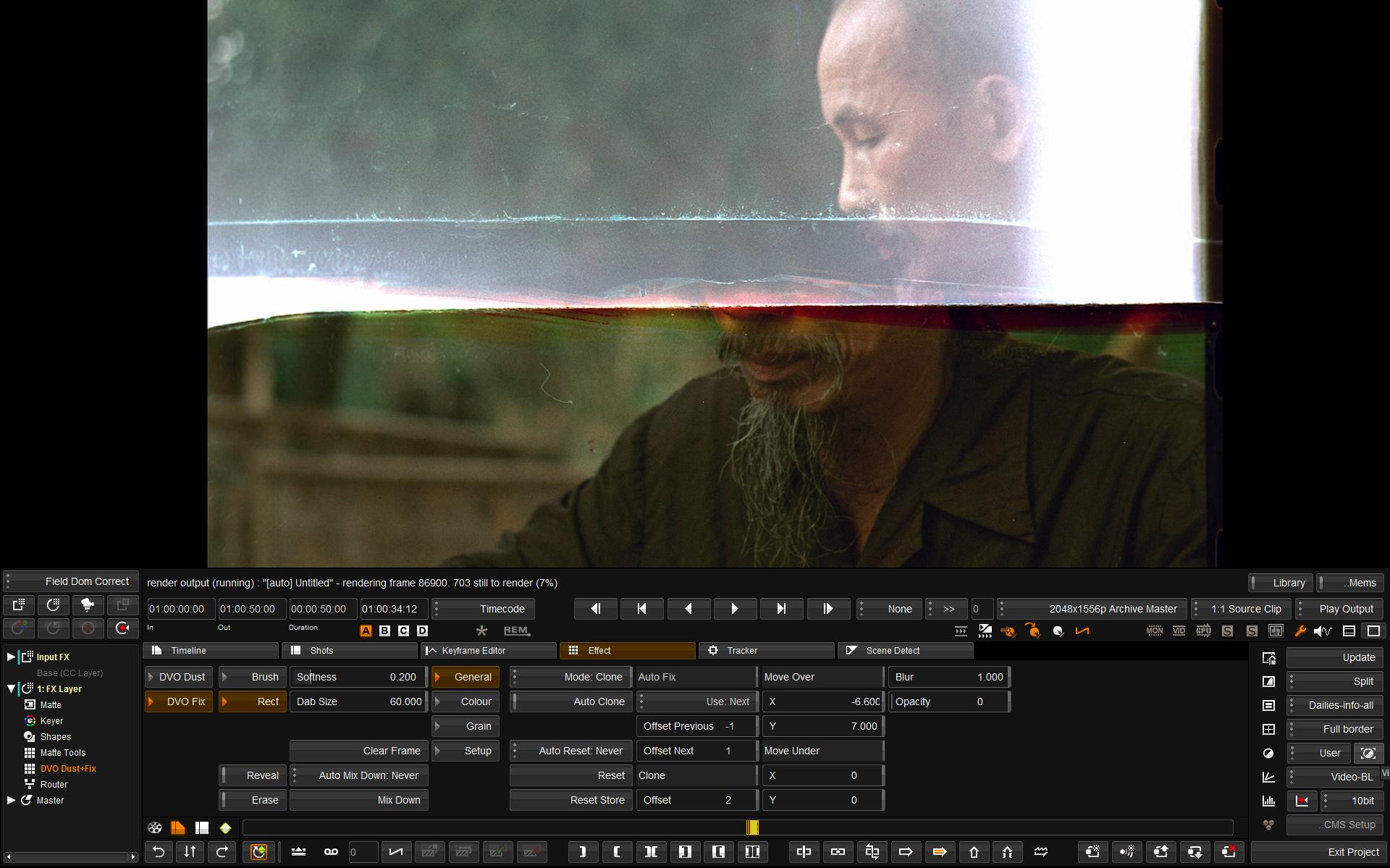 editing video Analog