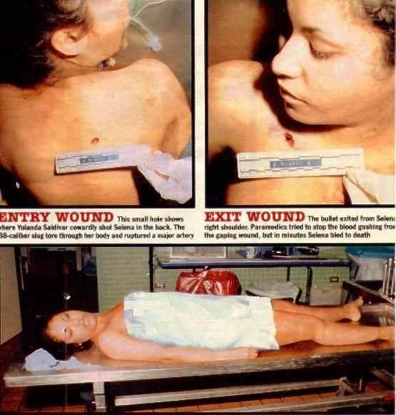 quintanilla autopsy Selena