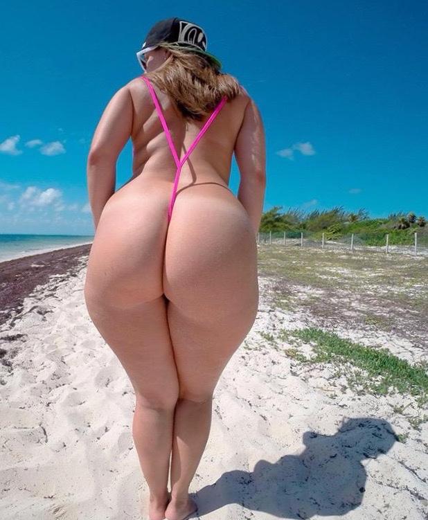 Midget nude wide white booty
