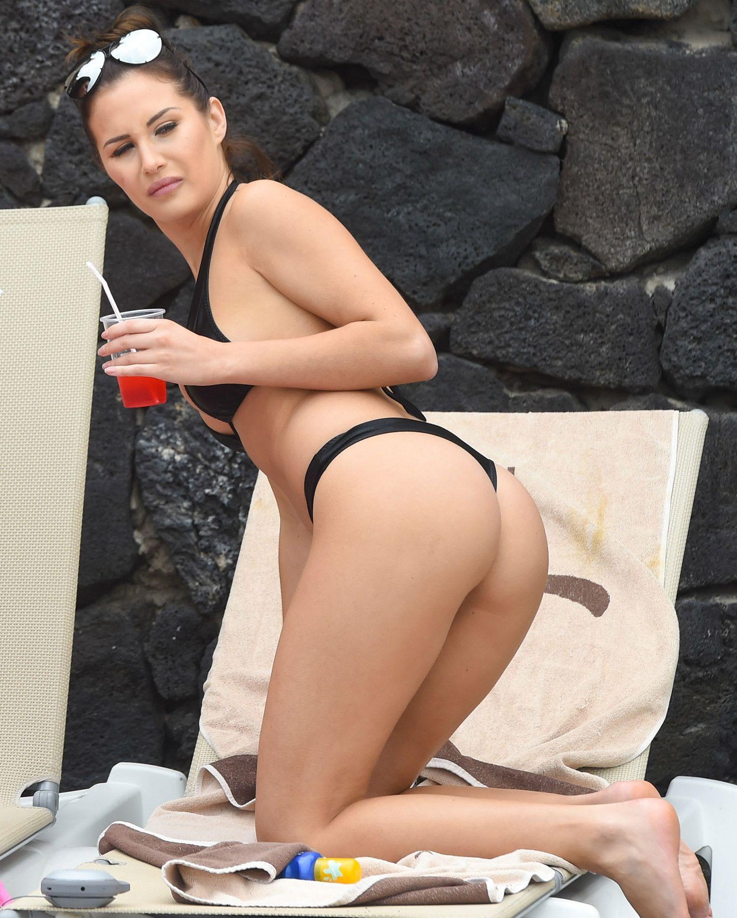 women Topless black