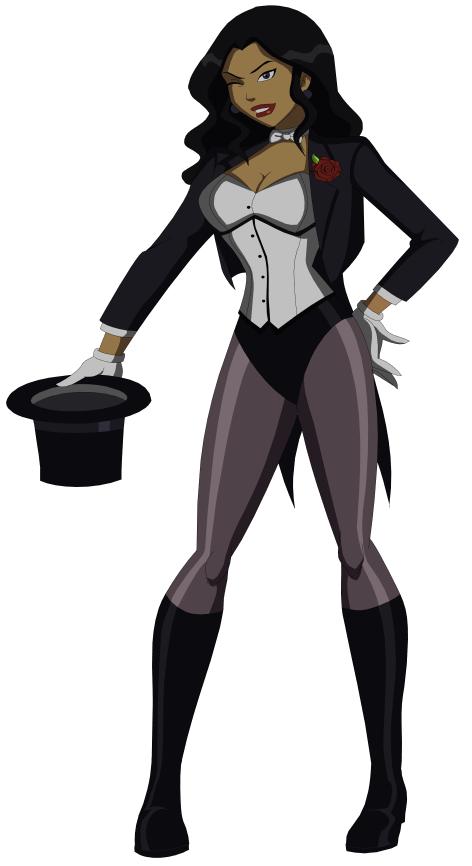 comic zatanna Young justice