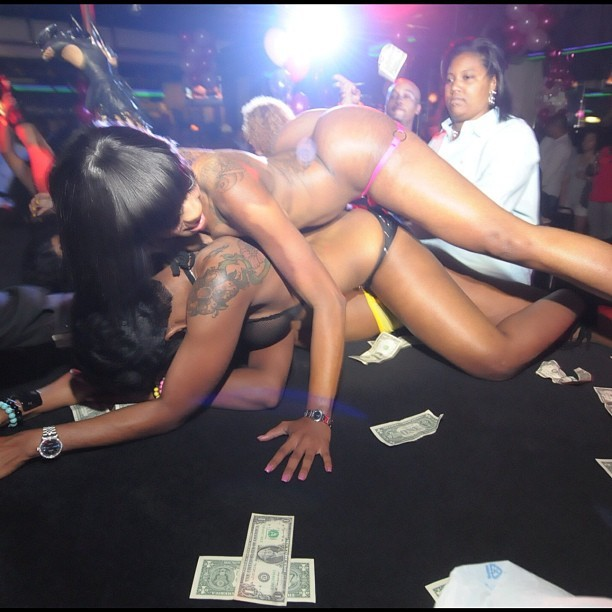 club Black atlanta female strippers strip