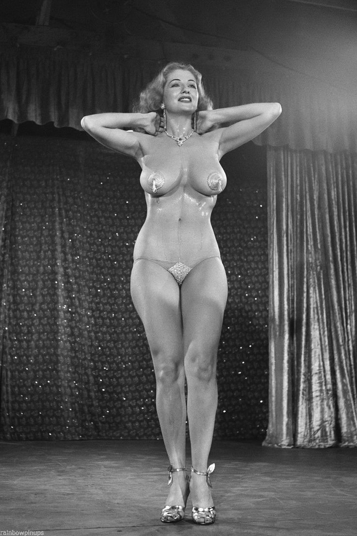 nude Burlesque dancers